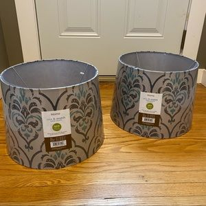 NWT Design Home Table Lamp Shades (Set of 2)